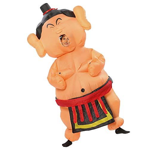 JYZCOS Inflatable Sumo Wrestler Fat Suits (Sumo Dark Large Size)