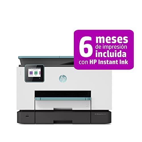 HP OfficeJet Pro 9025 3UL05B, Impresora Multifunción Tinta, Imprime, Escanea, Copia y Fax, Wi-Fi, Ethernet, USB 2.0, HP Smart App, Incluye 2 Meses del Servicio Instant Ink, Verde Oasis