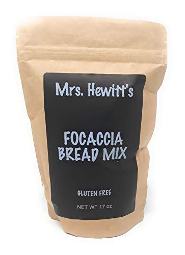 Mrs. Hewitt's Gluten Free Focaccia Bread Mix, 17 oz