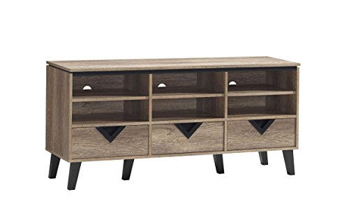 Baxton Studio Toussaint Modern and Contemporary Tv Stand, 55'
