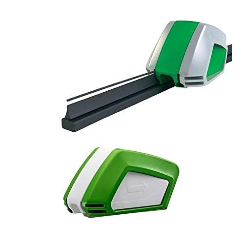 NOLOGO Yg-ct Reparatur-Werkzeug-Universalauto Scheibenwischer Cutter Wiper-Reparatur-Werkzeug Windschutzscheibe Gummi ReGroove Werkzeug (Farbe : 1 Set)