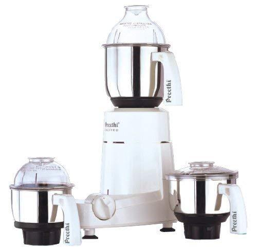 Preethi - Robot blender Super Grind Chefpro pour aliments secs et mouillés - 750 watts - Pots et lames 100% acier inoxydable