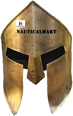 Nautical-Mart Brass Finish Spartan Super Special SALE Direct store held Helmet