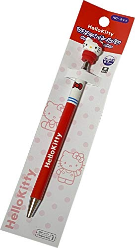 Sanrio Hello Kitty Core (φ) 0.7 mm Ballpoint pen with Mascot Stationery