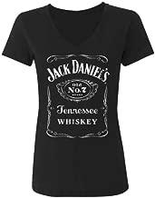 Women's Whiskey Logo Tee Black Small