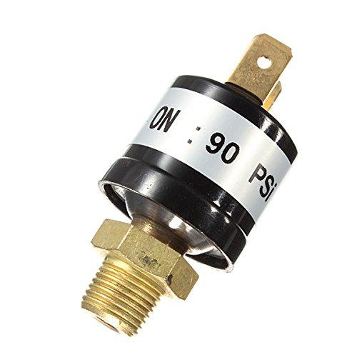 KUNSE 90-120 Psi luchtcompressor drukregelaar ventiel heavy duty