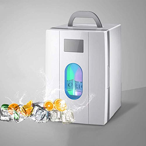TYUIO Mini réfrigérateur portatif de 10 litres de Refroidisseur de Voiture pour la Fonction de Refroidissement et de Chauffage de la Prise de Voiture/Camion