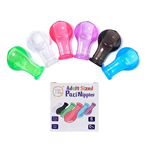 LittleForBig Chupete para chupete con brillo para adultos