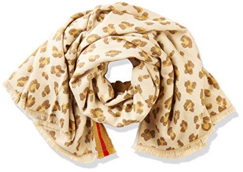 Levi's Damen Leopard Wrap Schal, Beige (Beige 23), One size (Herstellergröße: UN)