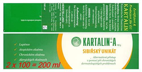 Kartalin- Schützend-prophylaktische Hautcreme, (Schuppenflechte, Psoriasis, Ekzem), 2 x 100 ml