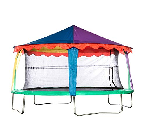 14ft x 17ft Oval Tent - Trampoline not included