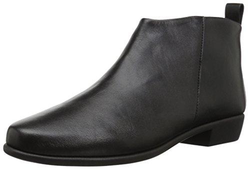 Aerosoles Women's Step It Up Boot, Black Leather, 7 M US
