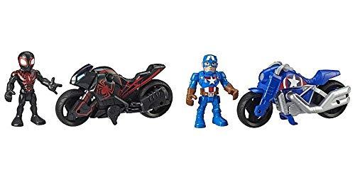 Super Hero Adventures-Capitán América y Moto De La Victoria (Hasbro E6262ES0)