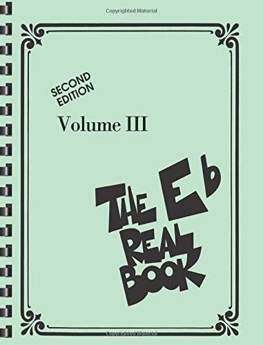 Price comparison product image The Real Book - Volume III: Eb Edition (Real Books (Hal Leonard))