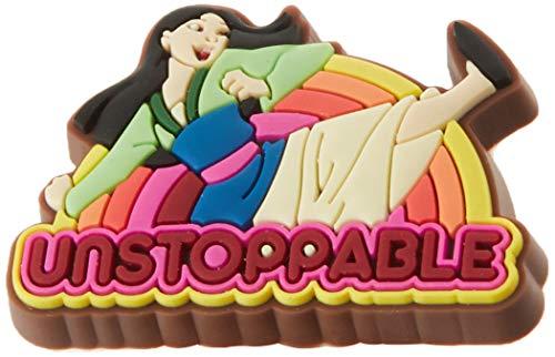 Crocs Jibbitz Disney Shoe Charm | Personalize with Jibbitz for Crocs Disney Mulan One-Size
