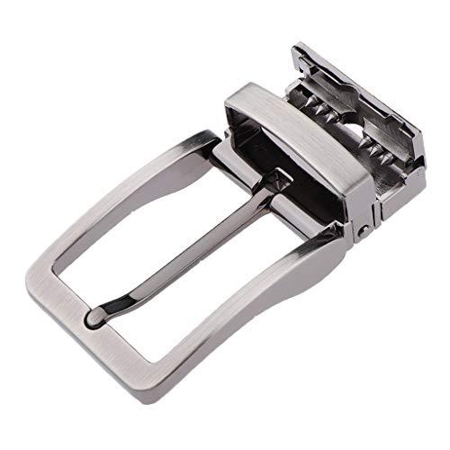 Baoblaze Hebilla Reversible Cinturón Accesorios Hombre para Trajes Casuales Ropa Trajes de Negocios - 02, como se describe