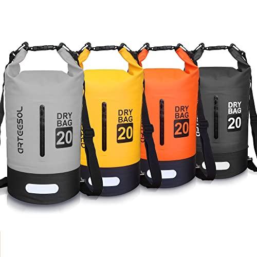 arteesol Bolsa Impermeable, 5L 10L 20L 30L a Prueba de Agua Bolso Seco/Bolsa Seca...