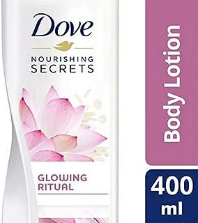 [Dove ] 鳩ピンクの蓮のボディローション400ミリリットル - Dove Pink Lotus Body Lotion 400ml [並行輸入品]
