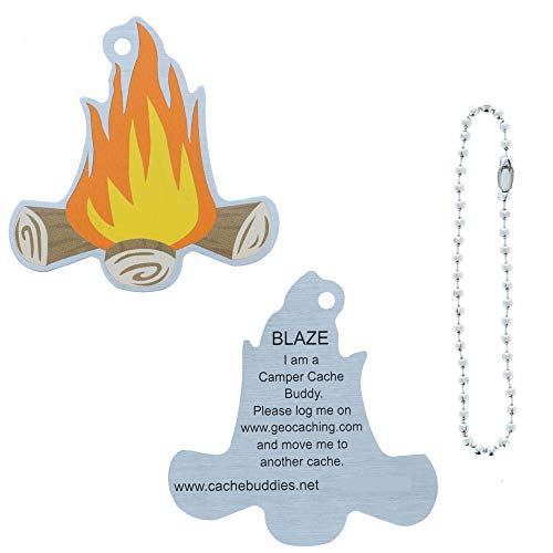 Geoswag Blaze The Campfire Travel Tag