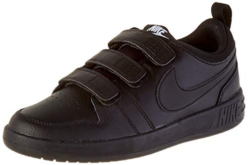 Nike Unisex-Child Pico 5 (GS) Sneaker, Black/Black, 38 EU