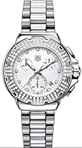 TAG Heuer Women's CAC1310.BA0852 Formula 1 Diamond Accented Chronograph Watch image