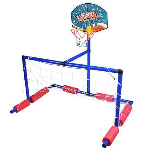 TOYANDONA Juego de Deportes Acuáticos Estante de Baloncesto