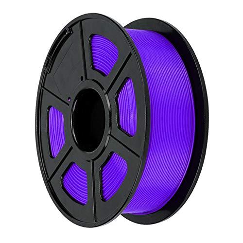 PLA filament 1.75mm, 3D printer filament 1kg, provide a variety of optional colors-Purple