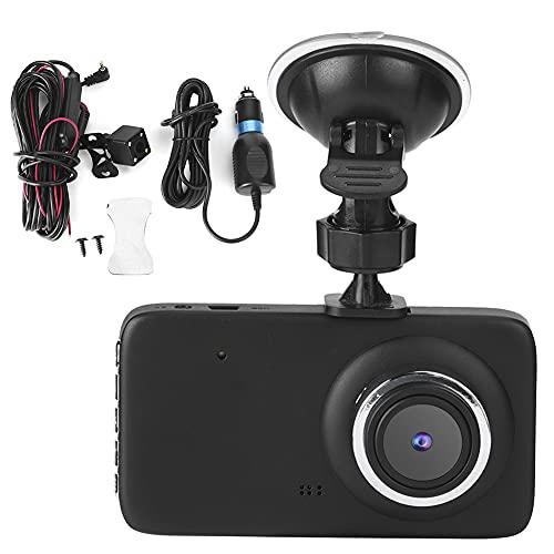Cámara de salpicadero de 4 pulgadas HD 1080P, cámara de coche con sensor G, para reproducción, grabación en bucle, detección de gravedad