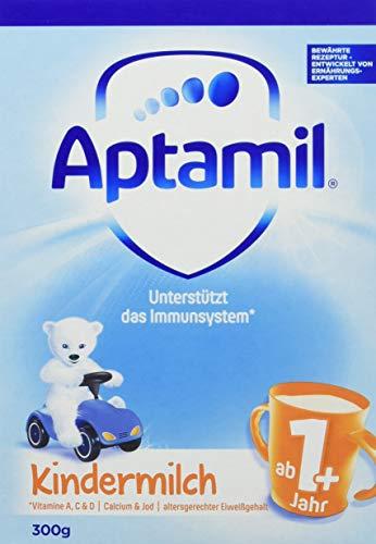 Aptamil Kindermilch 1+ Probiergröße. ab 1 Jahr, 8er Pack (8 x 300 g)