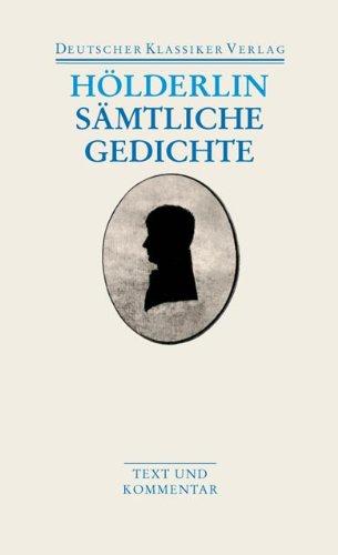 Sämtliche Gedichte: Text und Kommentar (DKV Taschenbuch)