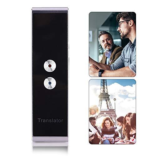 Tonysa T8 Intelligenter Sprachübersetzer mit 30 Sprachen, Sprach-/Textübersetzung Tragbarer Bluetooth Sprachübersetzer in Echtzeit-Sprache, Kompatibel mit den meisten iOS Android Handys