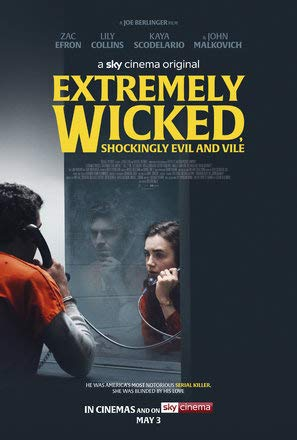Extremely Wicked, Shockingly Evil, and Vile – Film Poster Plakat Drucken Bild - 43.2 x 60.7cm Größe Grösse Filmplakat