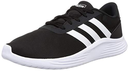 adidas Lite Racer 2.0, Zapatillas para Correr Hombre, Core Black/FTWR White/Core Black, 40 EU