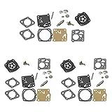 Kit de reparación de diafragma de carburador RK-23HS RK-17HS para Tillotson Husqvarna 61 66 162 165 265RX 266 268 181 281 Echo Poulan Echo CS60, CS900, CS1299