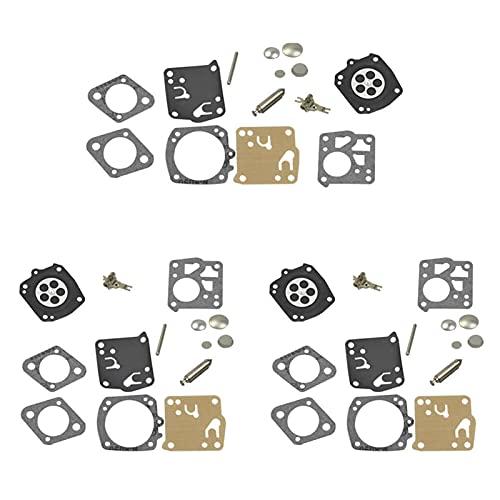 YEZIN Kit de reparación de diafragma de carburador RK-23HS RK-17HS para Tillotson H-U-S-Q-V-A-R-N-A 61 66 162 165 265RX 266 268 181 281 S-ti-h-l E-C-H-O P-o-u-l-a-n