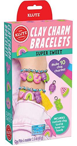 Klutz Clay Charm Bracelets: Super Sweet Craft Kit
