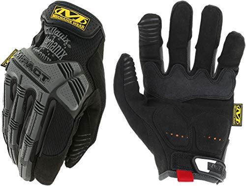 Mechanix Wear - Guantes M-Pact (Grande, Negro/Gris)