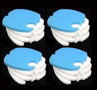 Replacement Filter Pads fits SUNSUN/GRECH/AQUATOP HW-303B CF400 Aquarium Filters (12 Fine + 4 Coarse)