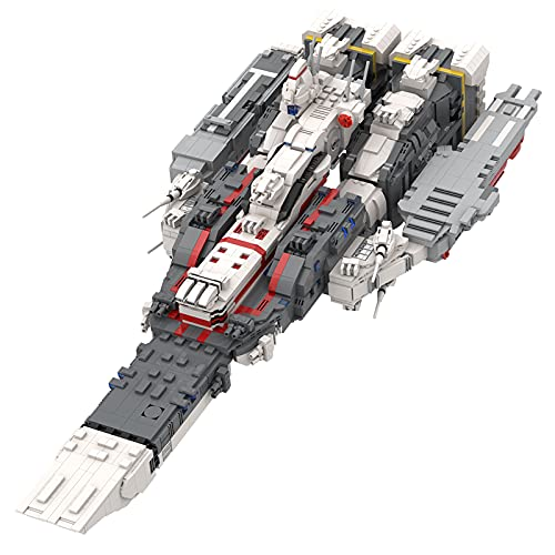 WANZPITS Ultimate Collectors Series Space Battleship Fort SDF - 1 Fortress Ship Architectural Model...
