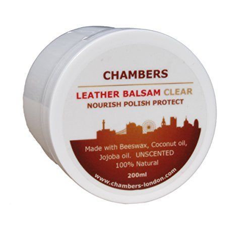 Chambers Leather, balsamo naturale, 200 ml, White, 200ml