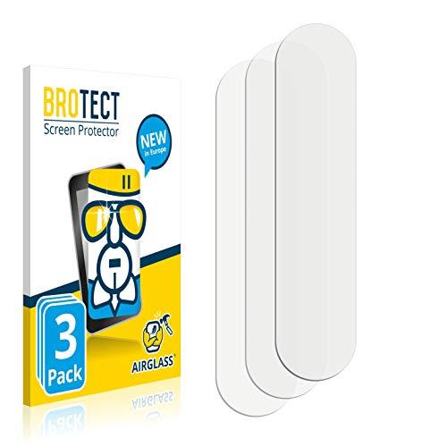 BROTECT Protector Pantalla Cristal Compatible con OPPO Find X2 Lite (Cámara) Protector Pantalla Vidrio (3 Unidades) Dureza 9H AirGlass