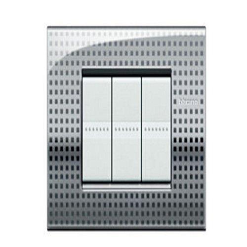 BTICINO LivingLight lnc4803ne – ll-placa Air 3 m net