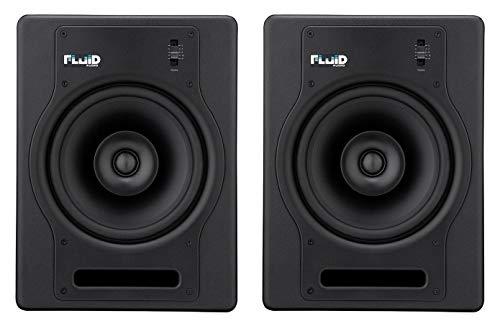 Fluid Audio FX8–Moniteurs de Studio, couleur noir