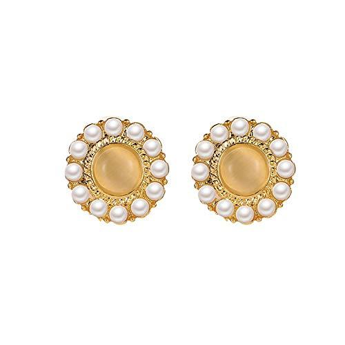XIANRUI Opaal Parel Oorbellen Vintage Zoete Mode Persoonlijkheid Oor Ornamenten