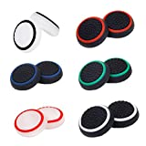 ELEPHANTBOAT® 6Pair Controller Joystick Thumbstick Cover Caps Grips for PS4