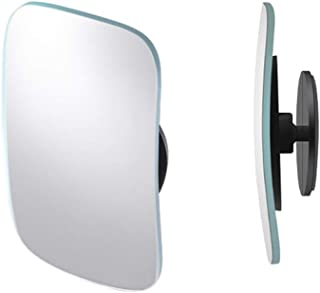Car Convex Mirror,Small Glass Blindspot Mirror for Truck,Adjustable Side View Blind Spot Mirror Frameless for SUV, Jeep,Va...