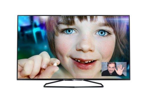 Philips 55PFK6409/12 140 cm (55 Zoll) Fernseher (Full HD, Triple Tuner, 3D, Smart TV)