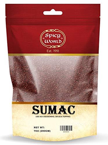 Spicy World Sumac 7oz - (Ground Sumak Spice)