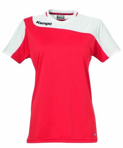 Kempa Tribute T-Shirt pour Femme XL Rouge/Blanc