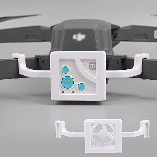 Flycoo RF-V16 GPS Tracker Localizador Tracer Soporte de Montaje Soporte para dji Mavic Pro Drone Accesorios (Blanco)